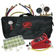 Комплект оборудования для заправки кондиционеров ATD-90